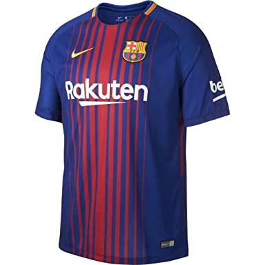 buy popular 9d017 325d9 Amazon.com: Nike Barcelona Home Messi #10 Jersey 2017-18 ...