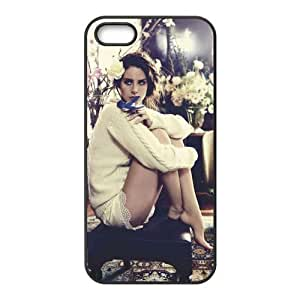 Customiz American Famous Singer Lana Del Rey Back Case for iphone 5 5S JN5S-2481
