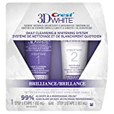 Crest 3D White Brilliance Daily Cleansing Toothpaste And Whitening Gel System 1 Tube 85 ml And 1 Tube 63 ml