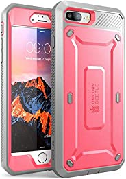 SUPCASE Unicorn Beetle Pro Series Case Designed for iPhone 7 Plus, iPhone 8 Plus Case, with Built-in Screen Pr