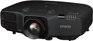 Epson V11H824120 PowerLite 5535U LCD Projector, Black