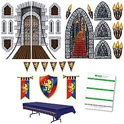 Medieval Renaissance Themed Party Decoration Kit (23 Pieces)