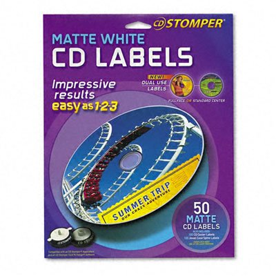AVE98108 - Labels for use with CD Stomper Pro CD/DVD Labeling System