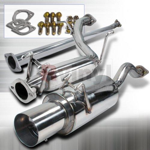 Spec-D Tuning MFCAT2-CV064 Honda Civic 4dr Sedan N1 Catback Exhaust System