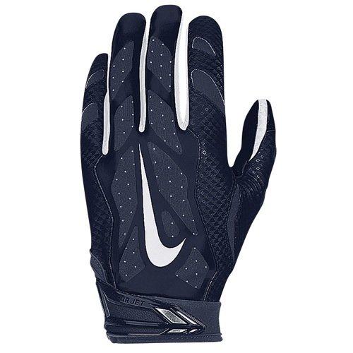 Nike Vapor Jet 3.0 Football Receiving Skill Glove, Navy, M ()