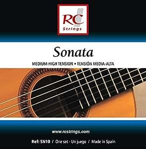 Royal Classsics SN10 - Cuerdas para guitarra, tensión normal