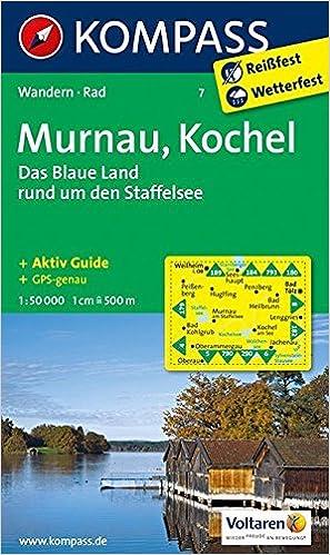 Baumarkt Murnau murnau kochel das blaue land rund um den staffelsee wanderkarte