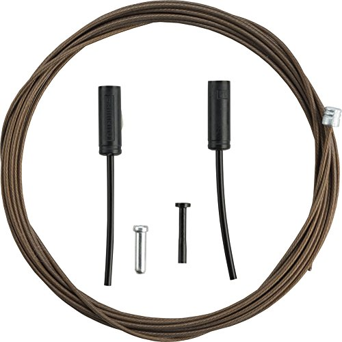 Shimano Polymer Coated Road Bicycle Shift Cable - 2500mm - Y63Z98970 by Shimano