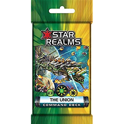 Star Realms: The Alignment, Alliance, Coalition, Pact, Union, Unity Command Deck Set: Toys & Games