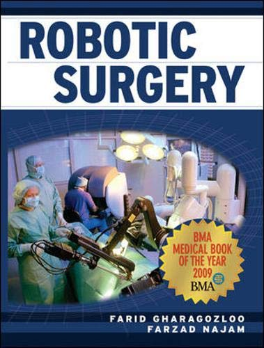 Robotic Surgery 1st Edition