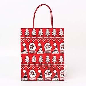 Amazon.com: Himpokejg Navidad papel kraft caramelos caja de ...