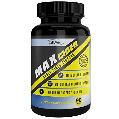 CelluWin Apple Cider Vinegar Pills ** MAXCider for Weight...
