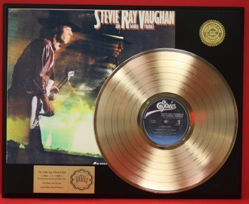 stevie-ray-vaughan-couldnt-stand-the-weather-gold-lp-record-ltd-edition-display