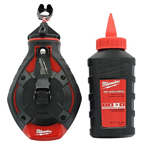 - Milwaukee ELEC Tool 48-22-3986 Bold Line Chalk Reel