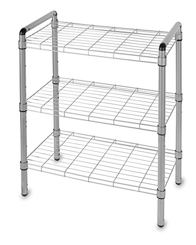 The Art Of Storage 3 Tier Quick Rack, Silver