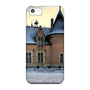 High Impact Dirt/shock Proof Case Cover For Iphone 5c (winter Castle)