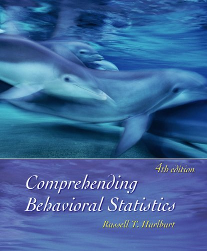 Comprehending Behavioral Statistics (with CD-ROM)