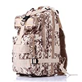 YX 3 Day Assault Backpack 3 Day Bug Out Bag Military Molle Daypack For Hunting Camping Outdoor Hiking Fishing Paintball Airsoft Bag30L
