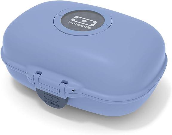 monbento - MB gram Azul Infinity Caja merienda para niños - sin BPA - Segura y Duradera: Amazon.es: Deportes y aire libre