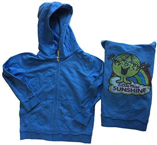 - Junk Food Girls Little Miss Sunshine Blue Zip Up Hoodie (Girls 6x)