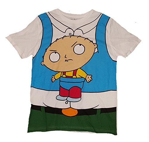 Family Guy Peter Griffin w/ Stewie Costume Graphic T-Shirt - Small -