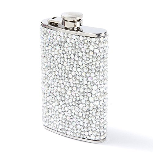 Icing Women's Pearl Bling Drink Flask