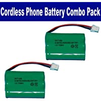 Synergy Digital Radio Shack 43-169 Cordless Phone Battery Combo-Pack includes: 2 x BATT-2400 Batteries