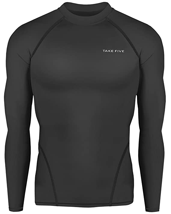 bd5e8dd4a74 Amazon.com  New Men Sports Apparel Long Sleeves Shirts Skin Tights Compression  Base Under Layer Top  Clothing