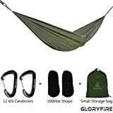 GLORYFIRE Camping Mosquito Net, Four Corners Enhanced Tactical Mosquito Net, Outdoor Mosquito Net Bar Olive Drab (Hammock)