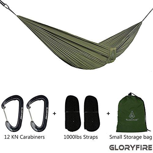 (GLORYFIRE Camping Mosquito Net, Four Corners Enhanced Tactical Mosquito Net, Outdoor Mosquito Net Bar Olive Drab (Hammock))