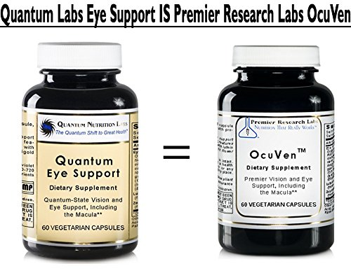 Quantum Eye Support, 240 caps / 4 Bottles - Premier Research Ocuven Vision and Eye Support, Including the Macula. Contains Lutein and Zeaxanthin. by Quantum Nutrition Labs (Image #2)
