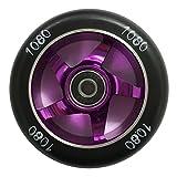 Ten Eighty 100mm Ninja Stunt Scooter Wheel - Purple/Black
