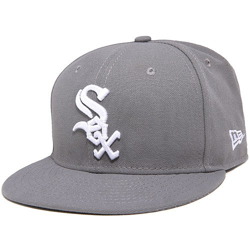 Basic Gray 59fifty Fitted Cap - 9