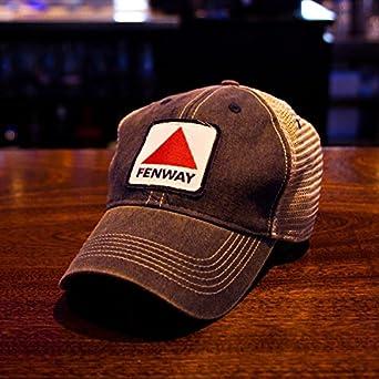 34b9b31f6 Chowdaheadz Fenway Patch Dirty Water Mesh Trucker Navy Hat at Amazon Men's  Clothing store: