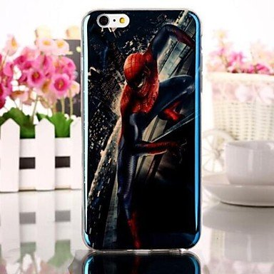 Amazon.com: Blu-ray Pattern Carcasa blanda de TPU para iPhone 6