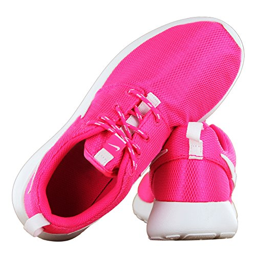 uvdyx Nike Roshe Run Pink Kids Trainers: Amazon.co.uk: Shoes &