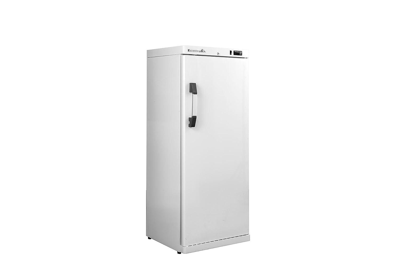 K2 Scientific 10 cu. ft. Vaccine/Medical Solid Door Upright Refrigerator