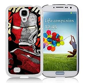 Iron man 19 White New Personalized Custom Samsung Galaxy S4 I9500 Case