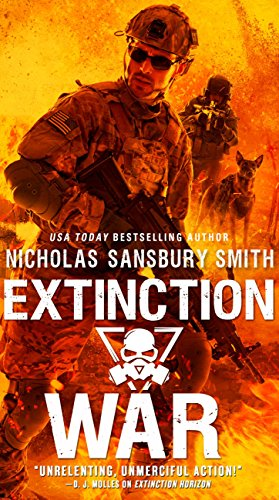 Extinction War (The Extinction Cycle Series Book 7) by [Smith, Nicholas Sansbury]