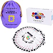 Friends TV Show Merchandise Trivia Quiz Card Games with 600 Questions for Friends Fans,Bar Entertainment, Game