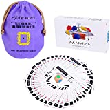Friends TV Show Merchandise Trivia Quiz Card Games with 600 Questions for Friends Fans,Bar Entertainment, Game Night Sports Fun !