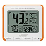 La Crosse Technology 308-179OR Wireless Temperature Station with Trends and Alerts