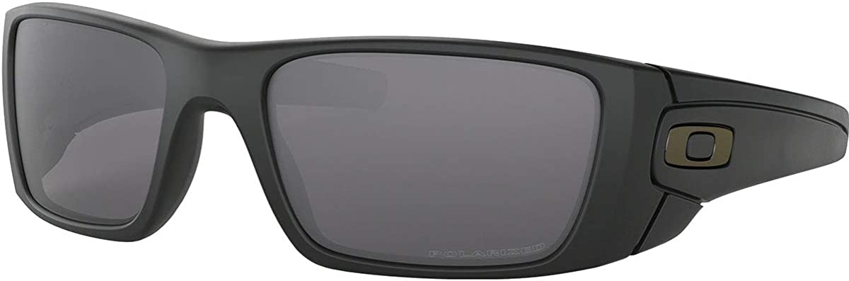 Oakley Men's Fuel Cell Sunglasses,Matte Black/Grey