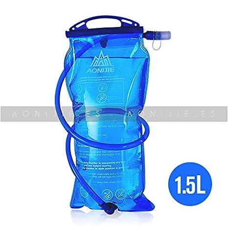 AONIJIE Bolsa de Agua 1,5L Water Bag