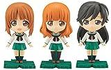 Bandai Hobby Petiture-Rise Miho/Saori/Hana Girls Und Panzer Model Kit Figure