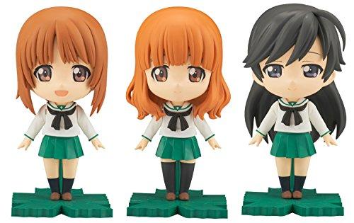 Bandai Hobby Petiture-Rise Miho/Saori/Hana Girls Und Panzer Model Kit Figure by Bandai Hobby