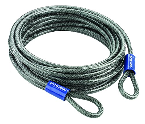 Flexible Steel Cable (Schlage 999270 Flexible Steel Cable, 30-Foot by .375-Inch)