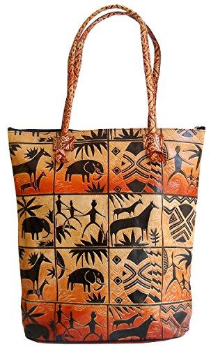 Crafts of India, Borsa a spalla donna Multicolore Multicolore
