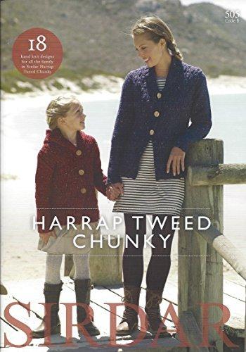 Sirdar Harrap Tweed DK Knitting Pattern Book - 505 Harrap Tweed Chunky by Sirdar by Sirdar