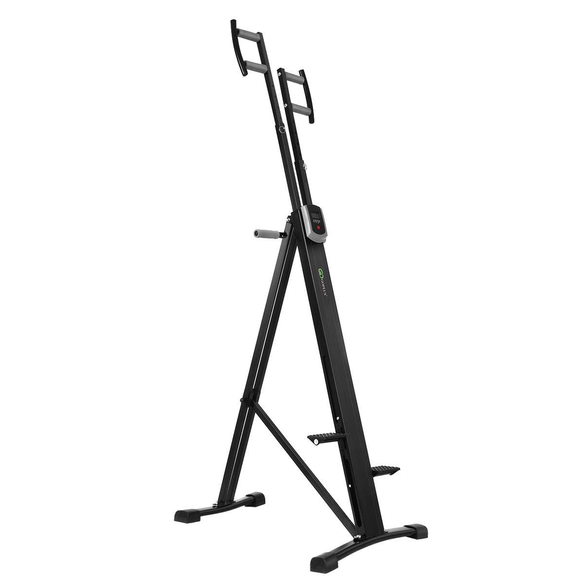 Goplus Vertical Climber Exercise Climbing Machine Folding Step Climber Exercise Equipment by Goplus (Image #7)